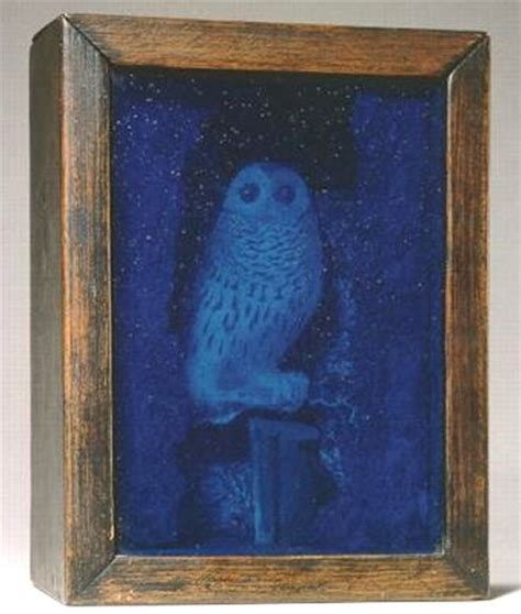 joseph cornell lighted owl artist joseph cornell