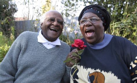Desmond Tutu and wife celebrate 60th wedding anniversary