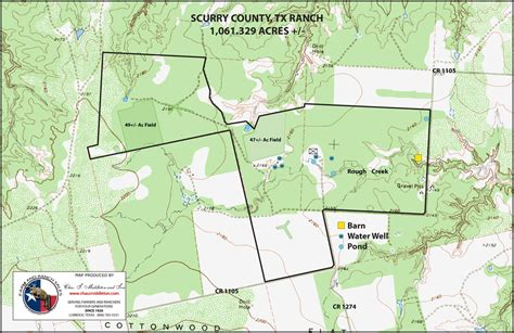 scurry texas map 1061 acres in scurry county texas