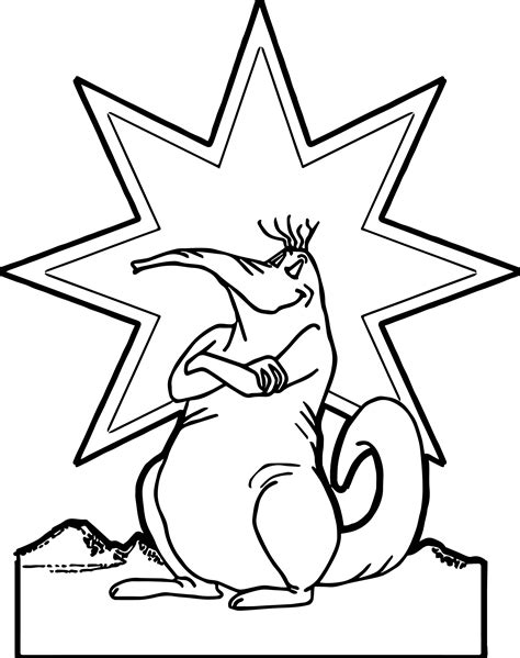 happy star coloring page happy star animal coloring page wecoloringpage