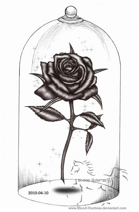 tattoo pen rose rose drawings rose pen drawing with glass by blood