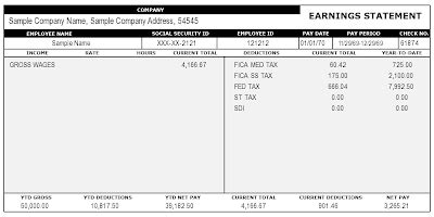 Pay Stub Template Generator Html Autos Weblog Free Paystub Maker Template