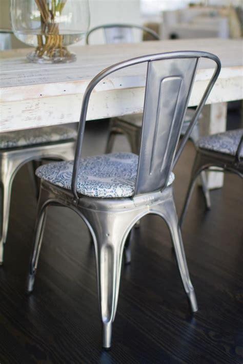 metal chair cushions photo page hgtv