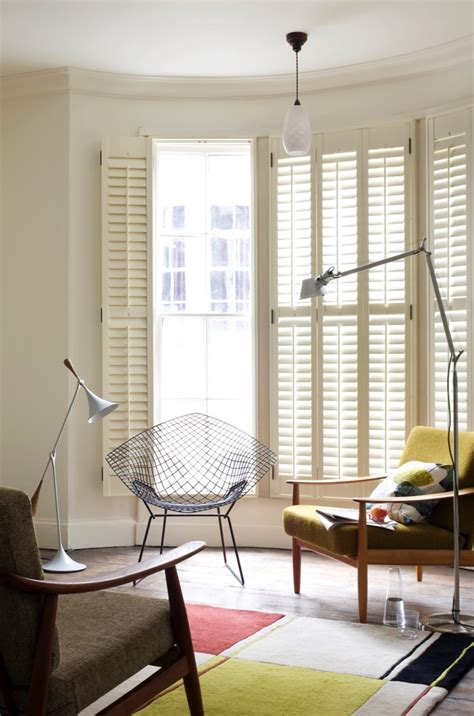 living room shutters west country shutters
