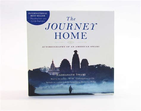 the journey home audio book book by radhanath swami