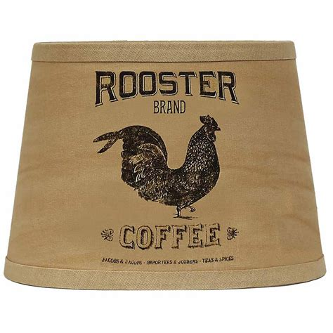 10 inch l shade 10 inch rooster brand coffee shade l shade by raghu