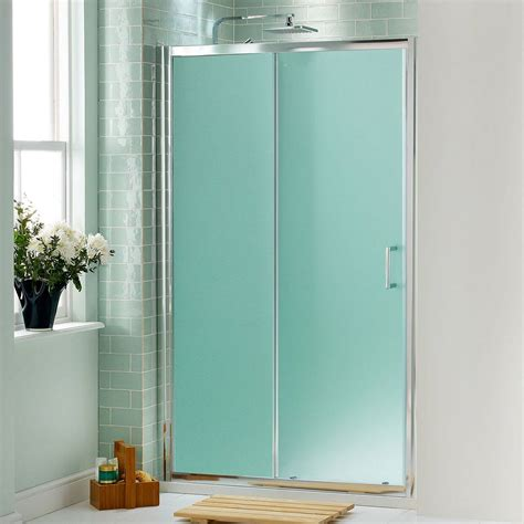 Frosted Glass Bathroom Doors 21 Creative Glass Shower Doors Designs For Bathrooms Digsdigs