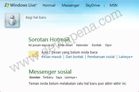 membuat email hotmail com cara membuat email hotmail dewapena