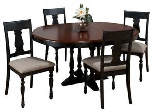 Round Dining Room Sets With Leaf by Jofran 293 48 Chesterfield Tavern 6 Piece Round Butterfly