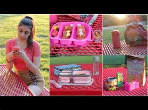 Healthy Giveaway Ideas - healthy back to school lunches after school snack ideas doovi