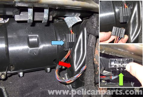 bmw e60 5 series blower motor blower motor resistor replacement pelican parts technical article