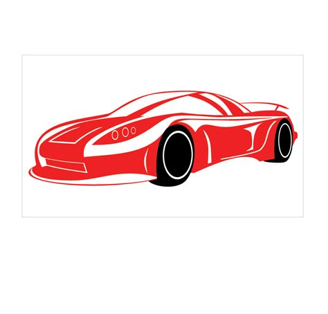 car wall sticker sports car wall decal removable wall stickers and wall decals