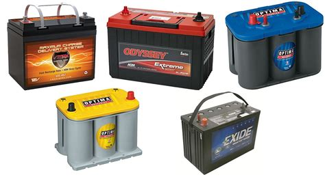 boat engine battery the 7 best marine batteries reviewed rated 2018