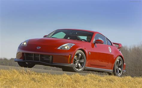 nissan 350z nismo 2008 nissan 350z nismo widescreen car wallpaper 03