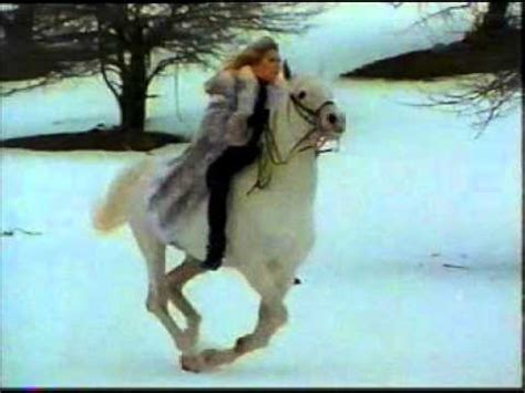 commercial girl riding horse dittrich furs horse commercial youtube