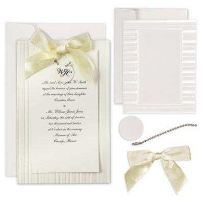 ivory wedding invitations kit ivory simple yet printable wedding invitations kit