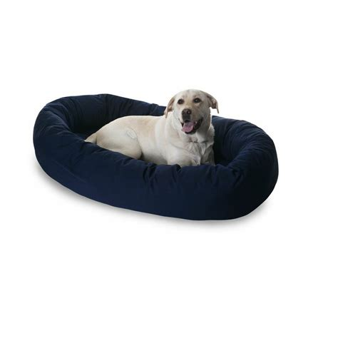 bagel dog bed bagel pet bed comfy dog bed lambert vet supply