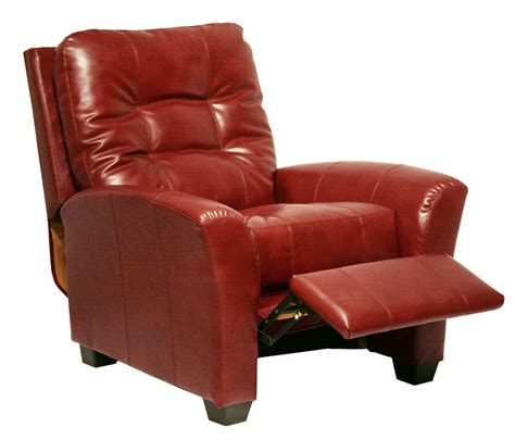Catnapper Recliner Handle by Catnapper Cooper Bonded Leather No Handle Multi Position Reclining Chair Cranberry
