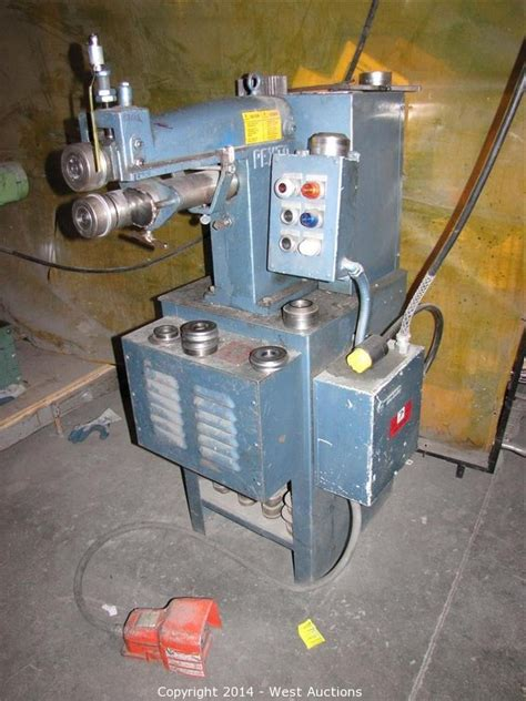 pexto bead roller west auctions auction heavy equipment and machinery