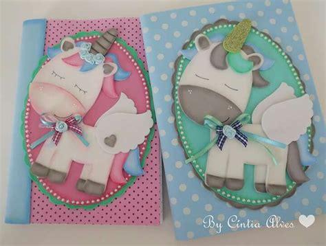cuadernos decorados de unicornio con foami pin de sucha foami en cuadernos decorados pinterest