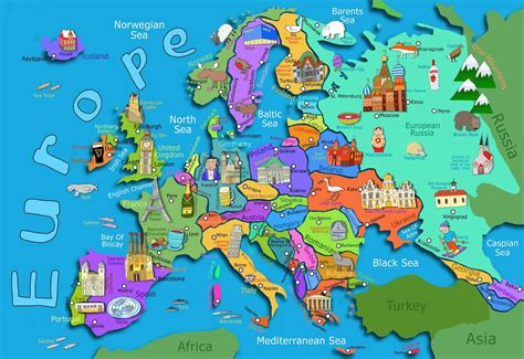 map usa europe map of europe maps