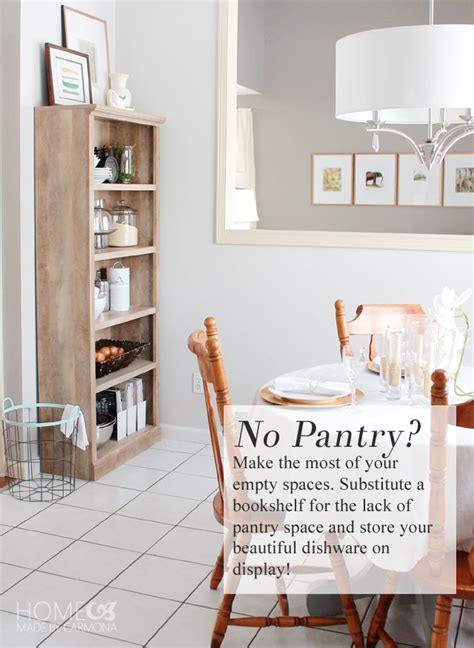 how to a pantry out of a bookcase charming pantry substitute