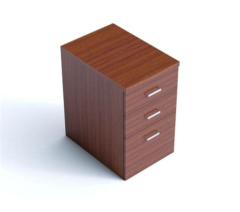 shallow desk 3 shallow drawer desk height pedestal kompass office