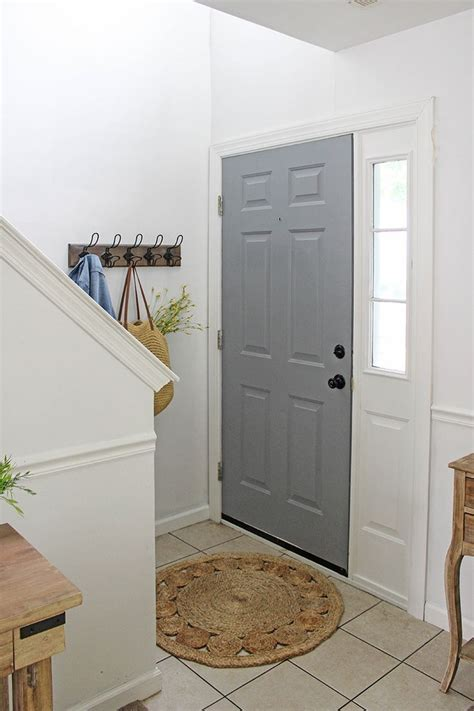 painted front door small change big impact painted