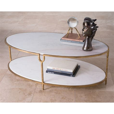 global views coffee table global views iron and oval coffee table on sale