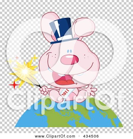 clipart new year rabbit royalty free rf clipart illustration of a 2011 new year