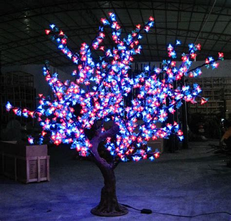 Outdoor Led Tree Lights 70w Lights Led High Artificial Led Cherry Blossom Tree Light 1 7 Meters 1158 Ls Outdoor