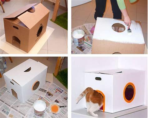 camas para gatos caseras 17 best ideas about cajas de gato on cajas de