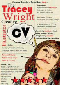 tracey wright illustration new creative cv