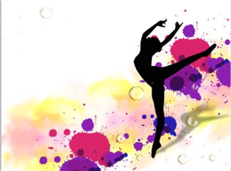 ppt themes dance dancers powerpoint template is a dance background for