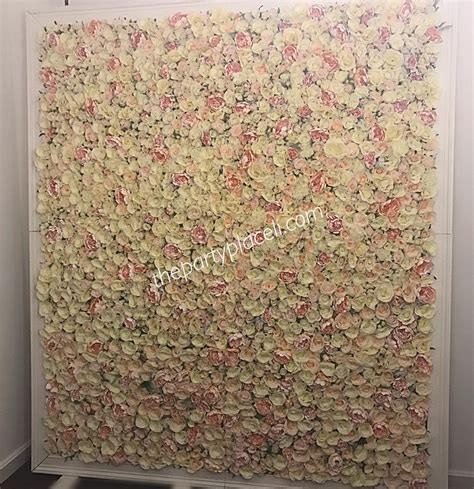Flower wall rental Long Island   The Party Place LI   The