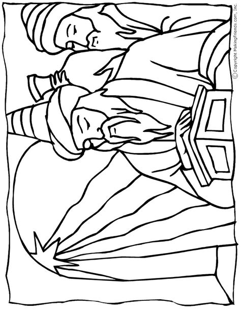 Bible Coloring Pages Wise Coloring Page