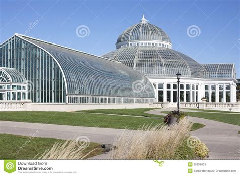como park conservatory in st paul mn stock photos image