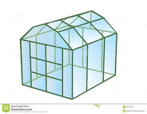 printable greenhouse greenhouse stock image image 36470241