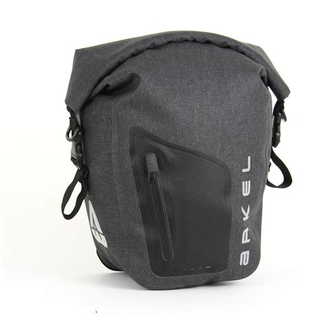 bicycle waterproofs orca 35 front or rear waterproof bike panniers by arkel