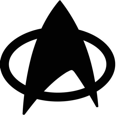 star trek black  white clip art stock png files