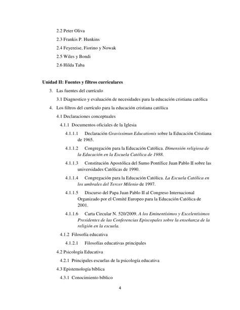 Modelo Curricular Tyleriano Prontuario Diseno De Curriculo En Religion