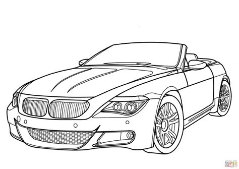 old fashioned cars coloring pages bmw m6 car coloring page transportation classic cars