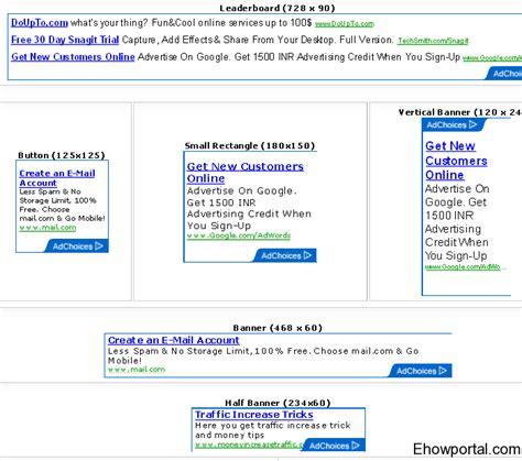 adsense sandbox google adsense sandbox tool with text image and video