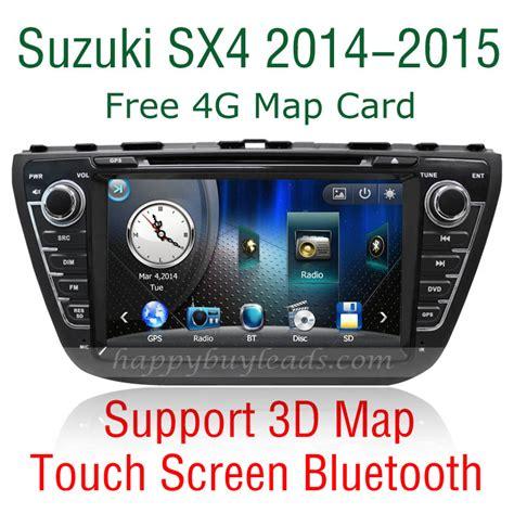 Suzuki Sx4 Bluetooth Suzuki Sx4 2014 2015 Car Dvd Player Gps Navigation Auto