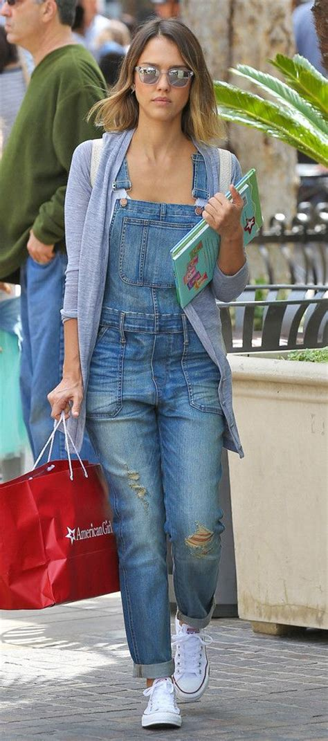 Get Albas Comic Con Denim Look by Overalls Overhaul From Alba S Style
