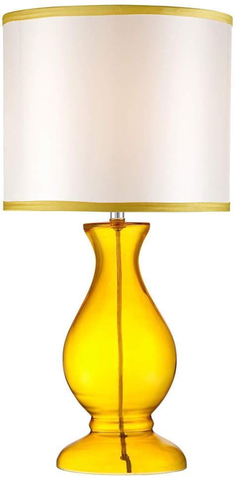 modern yellow contemporary yellow glass table l ls pinterest