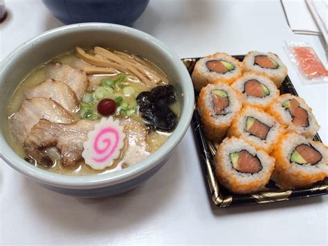 Ramen Margo City at santouka in food court salt ramen and sushi yelp