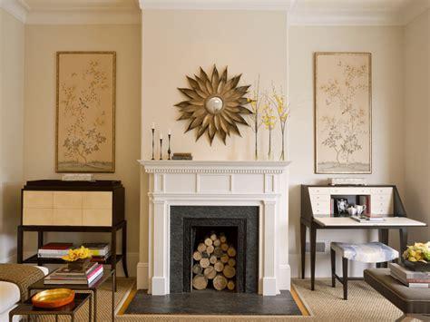 decoration de cheminee deco manteau cheminee miroir cadre design ideeco