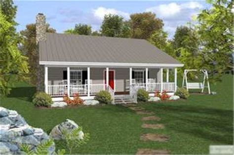 Small Ranch House Plan   Two Bedrooms, One Bathroom   Plan
