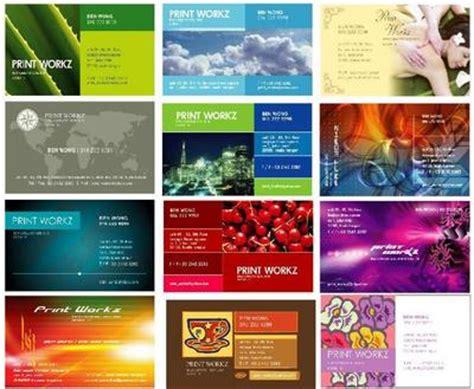 template kartu nama terbaru jasa cetak cepat dan berkwalitas digital offset hp